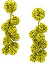 Sachin & Babi - Coconuts earrings - women - glass - OS - GREEN