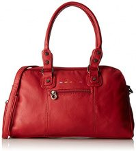 Little Marcel Id01 - Borse Bowling Donna, Rouge (Red), 14x23x39 cm (W x H L)