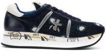 Premiata - Conny sneakers - women - Cotton/Calf Leather/Goat Skin/acetato di polietilene-vinile (PEVA) - 35, 36, 39, 40 - BLUE