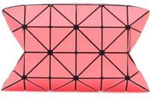 Bao Bao Issey Miyake - Bao Bao clutch bag - women - Nylon/Polyester/PVC - OS - PINK & PURPLE