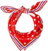 Codello 81022002, Sciarpa Donna, Rot (Red 1), Taglia unica