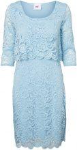 MAMA.LICIOUS Lace Nursing Dress Women Blue