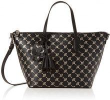 Joop! Cortina Metallic Helena Handbag Mhz - Borse a secchiello Donna, Schwarz (Black), 14x23x26 cm (B x H T)