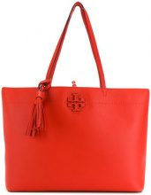 Tory Burch - McGraw tote bag - women - Leather - OS - Rosso