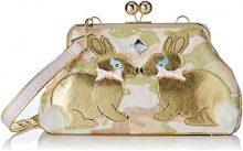 Irregular Choice Magic Bunny - Borse a spalla Donna, Rosa (Pink), 13x20x30 cm (W x H L)