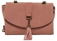 ONLY Leather Look Crossbody Bag Women Red