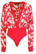 Tall Maisy Floral Plunge Bodysuit