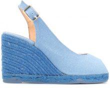 Castañer - Sandali - women - Linen/Flax/Leather - 35, 36, 37, 38, 39, 40 - Blu