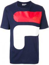 Fila - T-shirt con logo - men - Cotton - M, S, L, XL, XXL, XS - BLUE