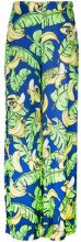 Love Moschino - Pantaloni stampati - women - Viscose - 38, 42, 44, 46 - Blu