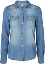 VERO MODA Denim Shirt Women Blue