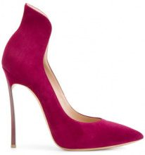Casadei - Pumps a stivaletto - women - Calf Leather/Leather - 37.5, 38, 38.5, 39, 39.5, 40, 40.5, 41 - PINK & PURPLE