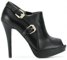- Versace Jeans - Pumps con fibbia decorata - women - Leather - 38, 41, 40 - Nero