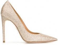 Dsquared2 - Pumps glitter - women - Leather/Polyester - 36, 36.5, 37, 38, 38.5, 39, 40 - NUDE & NEUTRALS