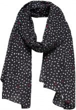 ONLY Printed Scarf Women Black