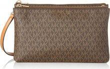 Michael Kors Adele, Borsa Tote Donna, Marrone (Luggage), 24.8x15.2x4.4 cm (W x H x L)