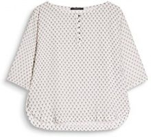 ESPRIT Collection 087eo1f018, Camicia Donna, Multicolore (Off White 110), 46