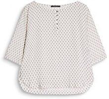 ESPRIT Collection 087eo1f018, Camicia Donna, Multicolore (Off White 110), 46