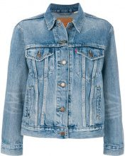Levi's - classic denim jacket - women - Cotton - S, M, L - BLUE