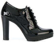 - Armani Jeans - Stivaletti con tacco - women - resina sintetica/gomma - 40, 37, 41 - di colore nero