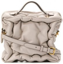 Anya Hindmarch - Borsa Tote 'Chubby Cube' - women - Lamb Skin - OS - NUDE & NEUTRALS