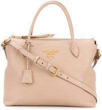 Prada - Borsa tote 'Cameo' - women - Leather - One Size - NUDE & NEUTRALS