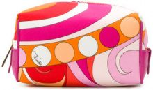Emilio Pucci - Trousse con zip - women - Polyester - One Size - MULTICOLOUR