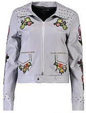 Kayla boutique giacca ricamata con borchie