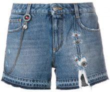 Ermanno Scervino - Shorts in denim - women - Cotone - 36, 40 - BLUE