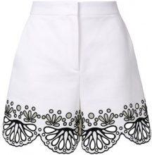 Emilio Pucci - Shorts ricamati - women - Cotone/Acetate/Viscose - 38, 40, 42 - Bianco