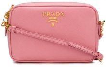 Prada - Borsa a tracolla 'Bandoliera' - women - Leather - OS - PINK & PURPLE