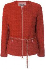 Herno - Giacca in tweed - women - Polyamide/Cotone/Viscose - 40, 44, 46, 42, 50, 48 - Giallo & arancio