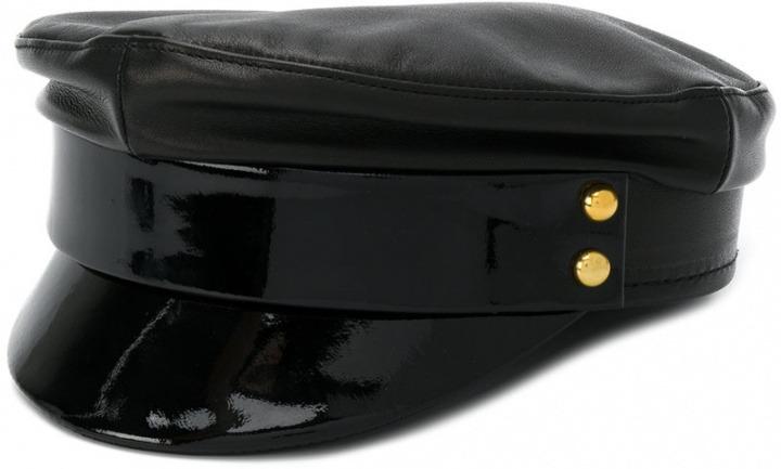 stile classico del 2019 cerca l'autorizzazione cerca autentico Manokhi - Cappello da marinaio - women - pelle di agnello ...