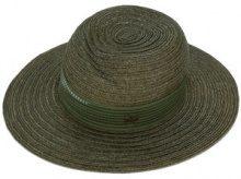 Maison Michel - Virginie hat - women - Acetate/Straw/polyester - S - GREEN