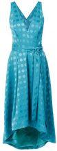 Tufi Duek - polka-dot midi dress - women - Acetate/Viscose - 36, 38, 40, 42 - GREEN