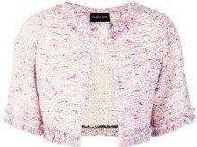 Talbot Runhof - Nununu4 jacket - women - Cotton/Polyamide/Polyester/other fibers - 34, 36, 38, 40, 42 - PINK & PURPLE