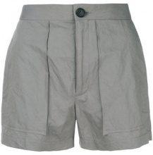 Chalayan - Shorts classici - women - Cotone/Viscose/metal - S, XL - Grigio