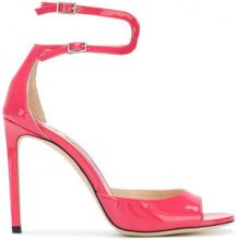 Jimmy Choo - Sandali 'Lane' - women - Patent Leather/Leather - 40, 37, 37.5 - Rosa & viola
