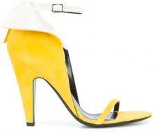 Calvin Klein 205W39nyc - winged sandals - women - Suede/Leather - 36, 38, 38.5, 40, 41 - Giallo & arancio