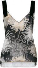 Nº21 - Blusa con scollo profondo a V - women - Silk/Polyamide - 46, 42, 44, 40, 48 - Multicolore