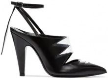 Calvin Klein 205W39nyc - Pumps 'Kai 105' - women - Leather/PVC - 36, 37, 38, 39, 40, 41, 37.5, 38.5 - Nero