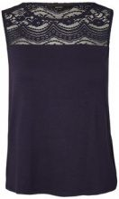VERO MODA Lace Sleeveless Top Women Blue