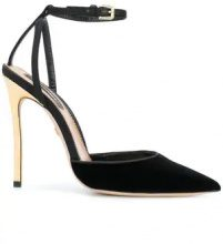 Dsquared2 - Pumps - women - Goat Skin/Leather/Lamb Skin/Silk - 36, 37, 38, 40 - BLACK