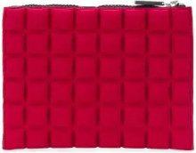 No Ka' Oi - Borsa clutch - women - Polyamide/Polyurethane/Spandex/Elastane - OS - RED