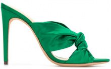 Alexandre Birman - Mules 'Kacey' - women - Leather/Satin - 36, 36.5, 37.5, 38 - Verde