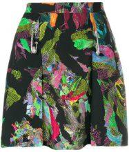 Versus - Minigonna stampata - women - Polyester - 36, 38, 40, 42 - BLACK