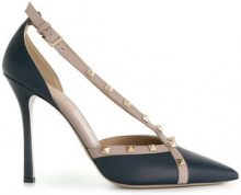 Valentino - Valentino Garavani Rockstud pumps - women - Leather - 35, 35.5, 36, 36.5, 37.5, 38, 38.5, 39, 40 - BLUE