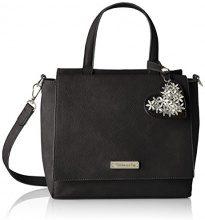 Tamaris Milla Handbag - Borse a secchiello Donna, Schwarz (Black), 10x24x25 cm (B x H T)