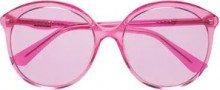 - Gucci Eyewear - Occhiali da sole tondi - women - Acetate - 59 - Rosa & viola