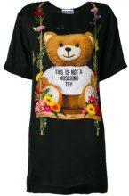 Moschino - Vestito modello t-shirt - women - Viscose - 40, 38 - Nero